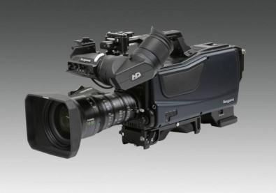 Figure 1: Ikegami 8K camcorder.