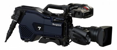 The UHK-430 is a 4K-native camera system with simultaneous HDR/SDR processing and three 2/3-inch CMOS sensors.
