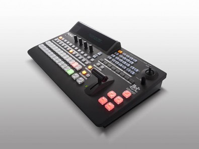 The FOR-A HVS-100 portable video switcher.