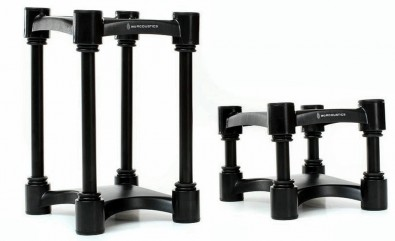 IsoAcoustics Isolation Stands.