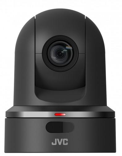 The JVC KY-PZ100 PTZ camera.