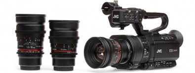 Figure 19: Rokinon T1.5: 24mm, 35mm, and 50mm MFT-mount lenses