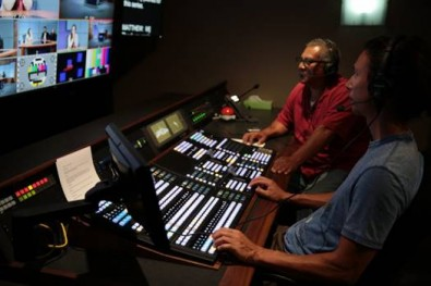 The four-channel Sony PWS-4500 is tightly integrated with the station's Sony XVS-6000 production switcher, which the station uses to control playback.