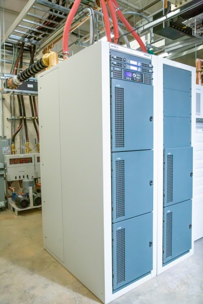 The GatesAir Maxiva ULXTE-50 easily fit into the space planned.