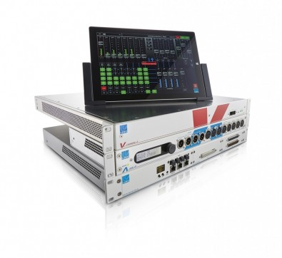 Lawo's Remote Production Kit includes the V__remote4 product, a bi-directional Video/Audio-to-IP interface designed to provide a one-box solution for all the requirements of video and audio signal transportation and processing in WAN-based remote productions.