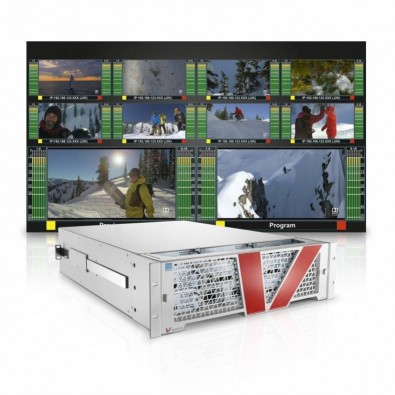 All video distribution, multiviewer generation and signal processing will be handled by a Lawo V__matrix platform equipped with thirty-three C100 FPGA processing blades.