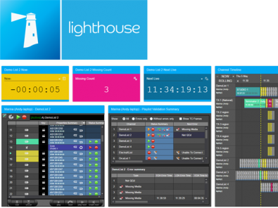 Lighthouse is a web-based remote management and monitoring dashboard for the Marina automation environment.