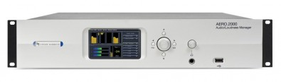 Linear Acoustic will demonstrate its Aero-series including the AERO.2000 Audio/Loudness Manager.