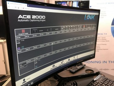 When using the ACE Series live captioning software, the ACE-2000 will accept audio from multiple sources including SDI, HDMI, AES, Analog audio or from streaming audio and convert the audio speech into text captioning data automatically.