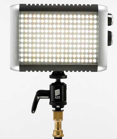 Based around the variable color temperature Litepanels Croma, the Croma Flight LED kit is compact and  comes with a wealth of power and mounting options.