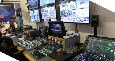 IP works, as evidenced at the VRT-EBU LiveIP Control Room at IBC 2016. Image: Nevion