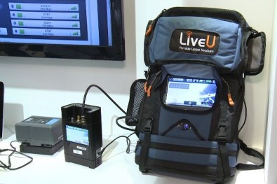 Currently, half of the station's reporters are using LiveU backpacks to go live via their JVC cameras from home. The other half of the station's reporting staff, as well as its anchors, are using the LiveU app on their station-issued iPhones and iPads.