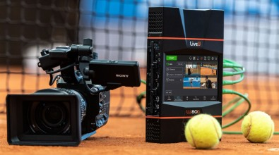 LiveU planned on using a courtside studio to demonstrate its latest solutions at the Las Vegas NAB Show.