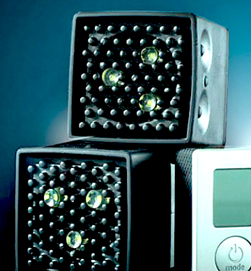 The low cost Lume Cube is a versatile LED system that can be both a flash or video light. Individual units can be slaved and are controlled via Android or iOS apps
