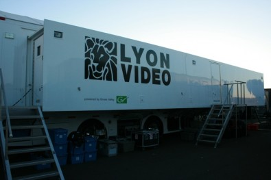 Lyon Video's Lyon-11 4K UHD/HD truck is wired for 3Gbps and is built around an 10GE switch fabric with more than 1Tbps switching capacity.