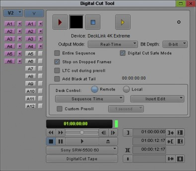 Avid's Media Composer Digital Cut tool
