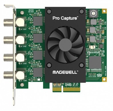 Magewell Pro Capture Quad SDI
