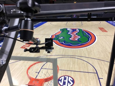 The POV cameras bring fans closer to the action, providing unique angles (on TV and the venue's score board) never before seen.