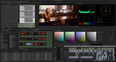 Avid's MediaComposer/Symphony User Interface.