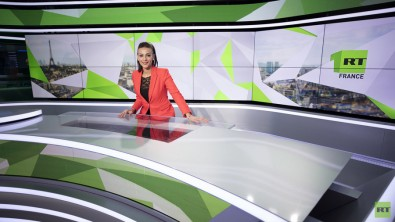 Systems integrator Megahertz recently equipped a state-of-the-art news studio in the Boulogne-Billancourt broadcasting hub for RT France's new French language channel.