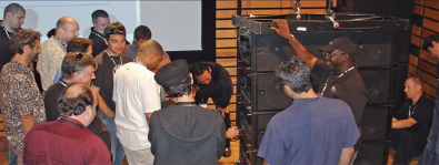 Meyer line array seminar.