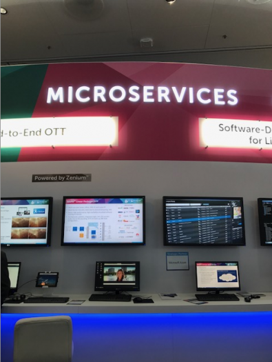 The micro services concept has attracted many large media organizations at various trade shows because they help get the most efficiency and economy out of networked production and distribution environments.