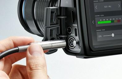 Mini XLR Audio Connector