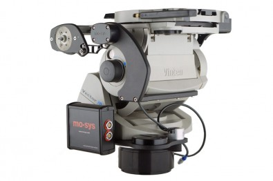 The Mo-Sys virtual crowd kit includes camera tracking encoders mounted on Vinten Vector heads.