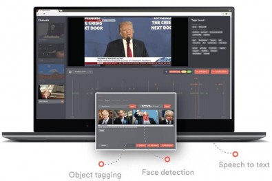 News Pilot is a fully-automated software solution based on AI algorithms that automatically switches and controls PTZ cameras, plays graphics and stored content by analyzing 3D video images and audio signals from the TV studio.