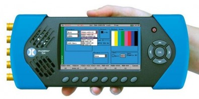 The Sx line has become a favorite with broadcast engineers for HD-SDI infrastructure T&M.