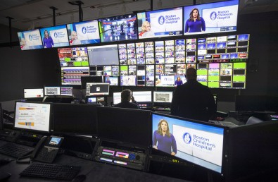 There are six production control rooms, plus a dedicated podcast studio.