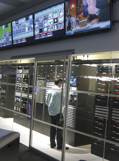 NBCSports Stamford operations are remotely tied into four other production facilities in the U.S. and UK.