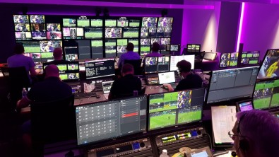 Fox Sports Australia produced a football match in Perth from a control room in Sydney, some 4,000 kilometers away using all IP.