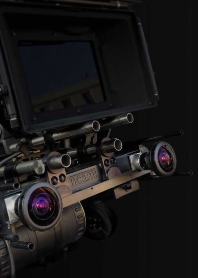 The Ncam Live tracker system attaches to the main broadcast camera