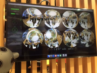 Nokia has developed an OZO Live SDK that includes multi-viewer software to monitor each camera feed.