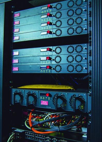 Distribution rack