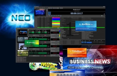 Several upgrades to the Neo Channel-in-a-Box suite will be demonstrated in the PlayBox exhibit.