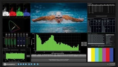 The PHABRIX Qx product line is upgraded for SMPTE 2110 IP signal generation and analysis.