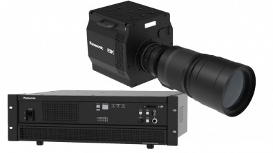 Panasonic showed a prototype 8K camera system with a PL lens mount and the world's first 8K organic CMOS image sensor.