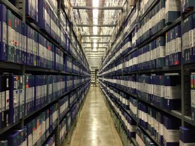Tape Vault (Paramount Studio's library).