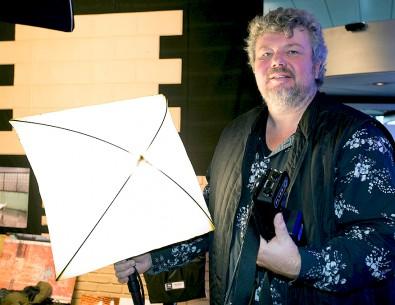 Peter Plesner, founder of BBS Lighting.