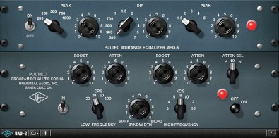 Universal Audio Plug-In of Classic Hardware