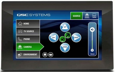 Q-SYS Screen