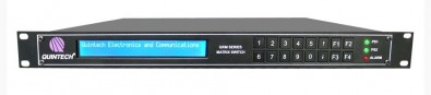 The Quintech QRM 1000/2500 IF and L-band Routing Matrix Switch will be showcased on the Quintech stand.