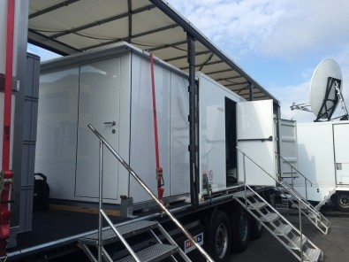 RTL used a Multiprotocol Label Switching network linking the race venue to the CBC facility, allowing all onsite live video and audio signals to be delivered and made available in the control room in Cologne.