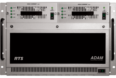 RTS ADAM is a full-size modular matrix intercom<br />