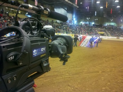 TNDV crews used Hitachi Z-HD5000 HD cameras and Fujinon lenses to capture the excitement.