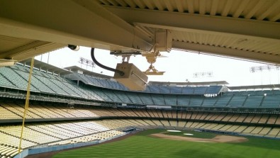 The Intel 360 Replay system uses high-resolution cameras mounted around a venue to allow viewers to see and experience sporting events from any angle.