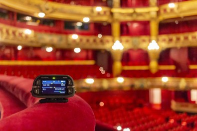 Due to the theater's historic designation, the installation would have to be as unobtrusive as possible with a minimum of antennas.