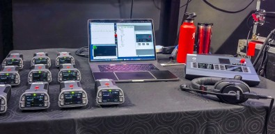 At each ISL event, a Bolero wireless system was used to keep individuals informed and overall comms chatter to a minimum.